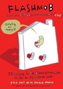 kinderboekenmakersflashmob rood
