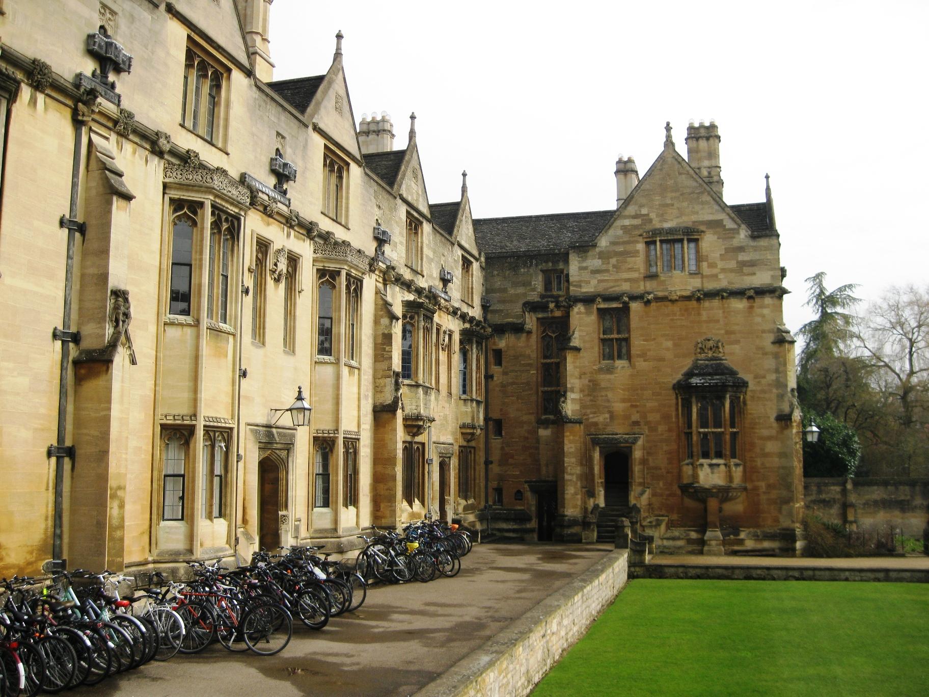 fietsen new college
