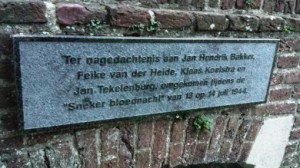 Monument Sneeker Bloednacht